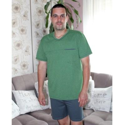 KO-GO Férfi Rövid Zöld Pizsama 3e6b3710d5